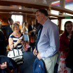 Guests on board  - Copyright Jonathan Duckworth