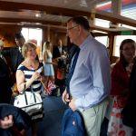 Guests on board  - Copyright Jonathan Duckworth