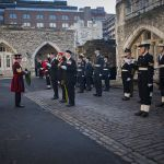 Yeoman Guard present Wreath