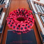Wreath from the poppy factory