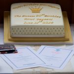 Birthday Cake & Menus Havengore - Copyright Jonathan Duckworth