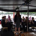 Opera Singer Nazan Fikret, sings with GMT Brass Ensemble Orchestra - Courtesy of Gemma Pettman PR